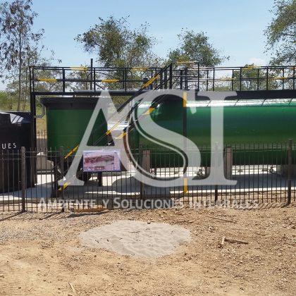 Planta de tratamiento agua residual domestica
