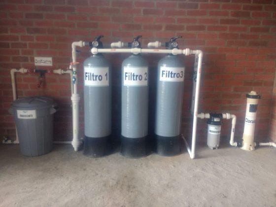 Tratamiento de agua potable por floculación a contacto